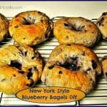 New York Style Blueberry Bagels DIY