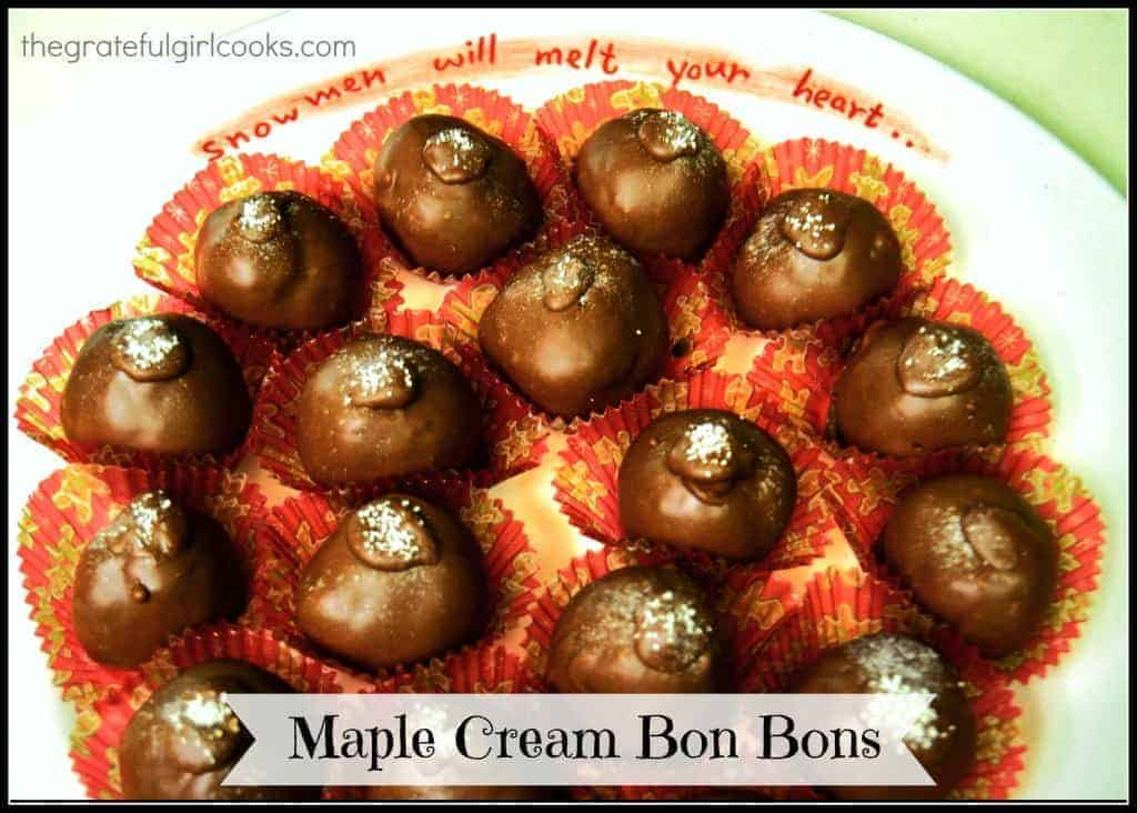 Maple Cream Bon Bons / The Grateful Girl Cooks!