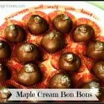 Maple Cream Bon Bons