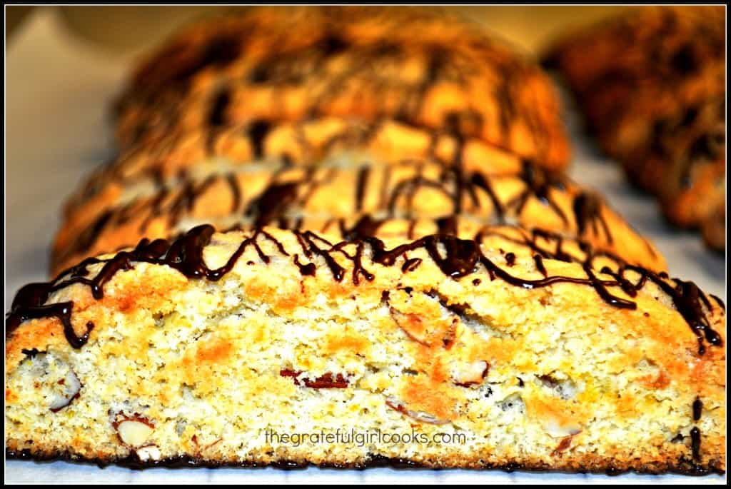 Orange Almond Biscotti / The Grateful Girl Cooks!