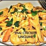 Thai Chicken Linguini
