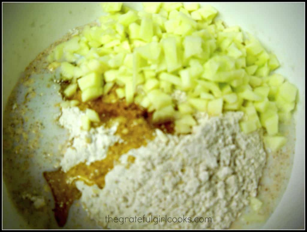 Apple Cinnamon Scones / The Grateful Girl Cooks!