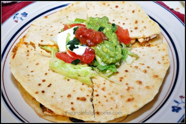 Flour tortillas can be used to make quesadillas and other dishes!