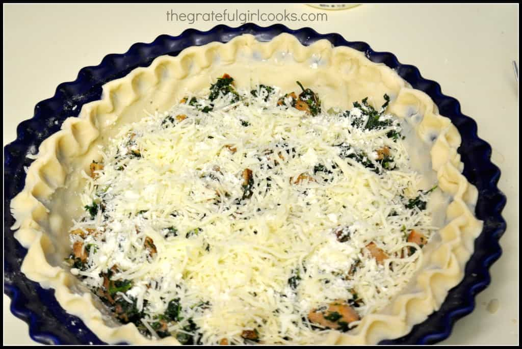 Italian Sausage and Spinach Quiche / The Grateful Girl Cooks!