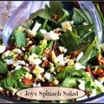 Joy's Spinach Salad
