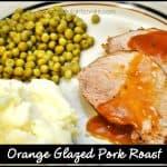 Orange Glazed Pork Roast