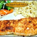 Pan Seared Creole Salmon