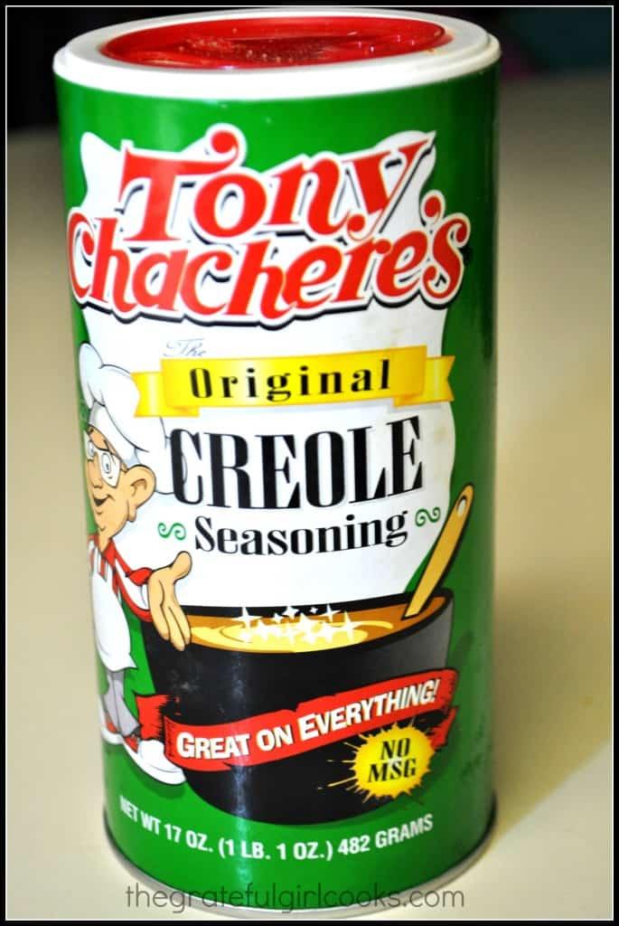 Pan Seared Creole Salmon / The Grateful Girl Cooks!