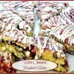 White Chocolate Raspberry Scones
