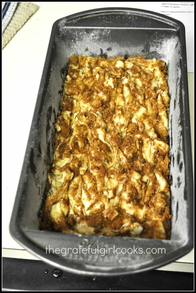 Apple Cinnamon Bread / The Grateful Girl Cooks!