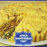 Apple Shortbread Tart
