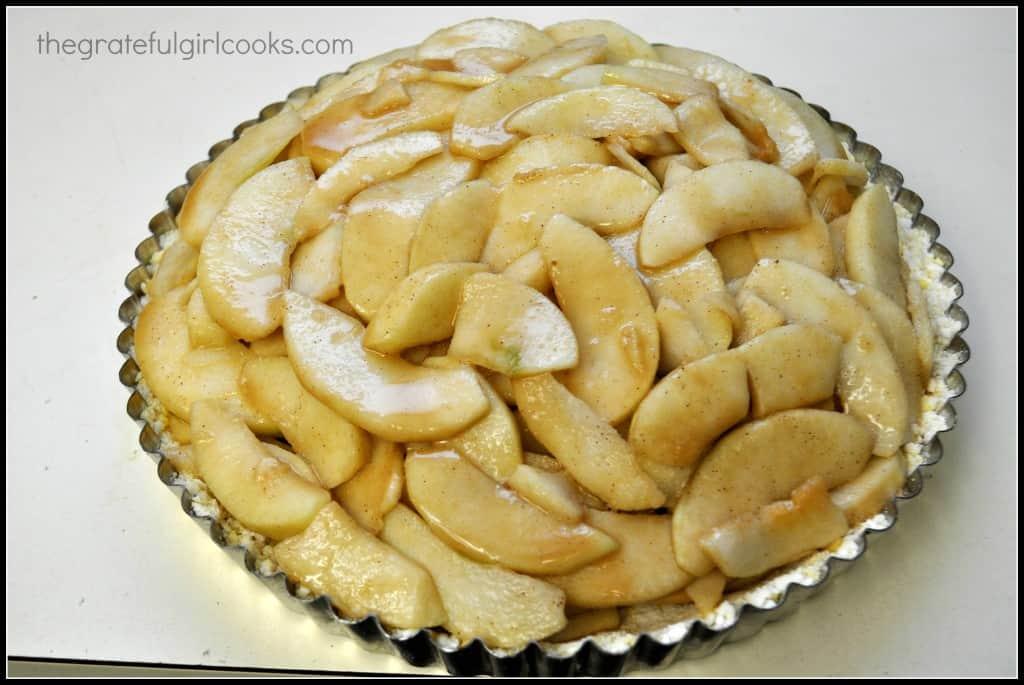 Apple Shortbread Tart / The Grateful Girl Cooks!