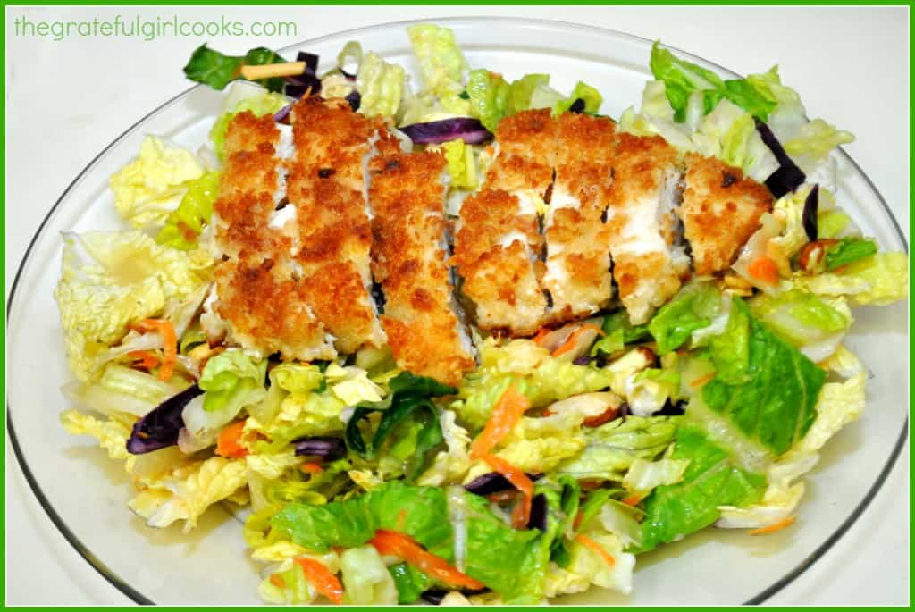 Copycat Applebee's Oriental Chicken Salad / The Grateful Girl Cooks!
