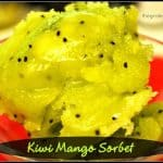 Kiwi Mango Sorbet
