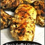 Mom's Grilled Chicken EASY Basting Sauce