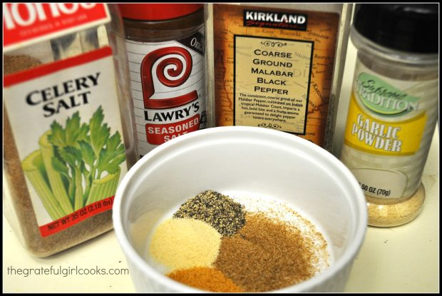 Spices needed for grilled chicken basting sauce