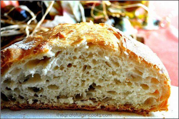 No-Knead Bread / the Grateful Girl Cooks!