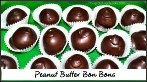 Peanut Butter Bon Bons / The Grateful Girl Cooks!