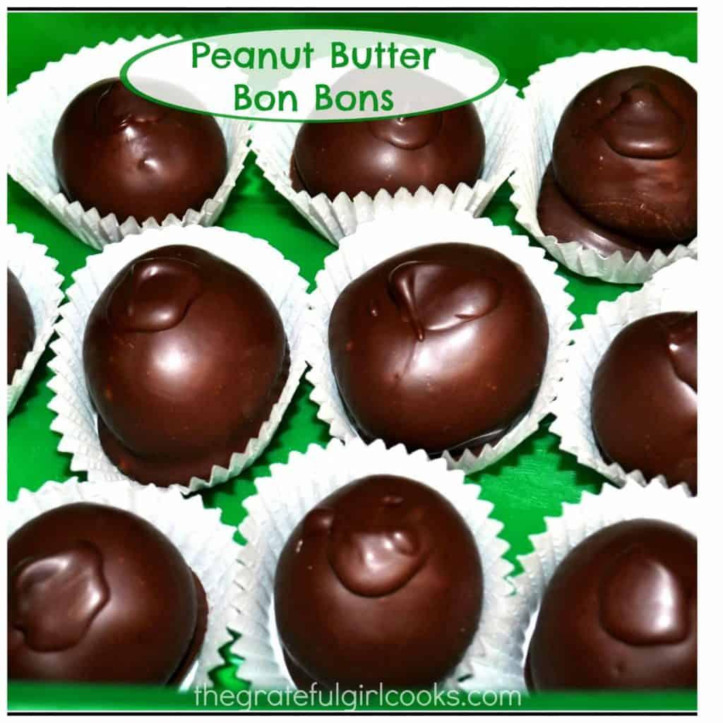 Peanut Butter Bon Bons / The Grateful Girl Cooks!