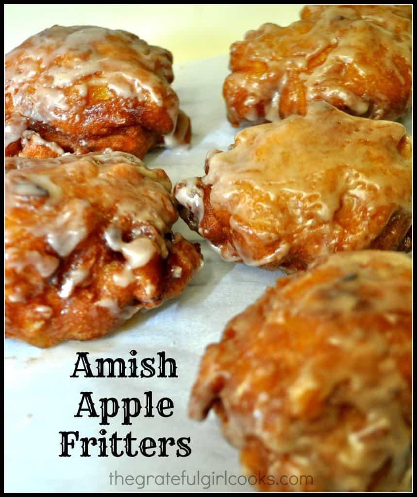 Amish Apple Fritters / The Grateful Girl Cooks!
