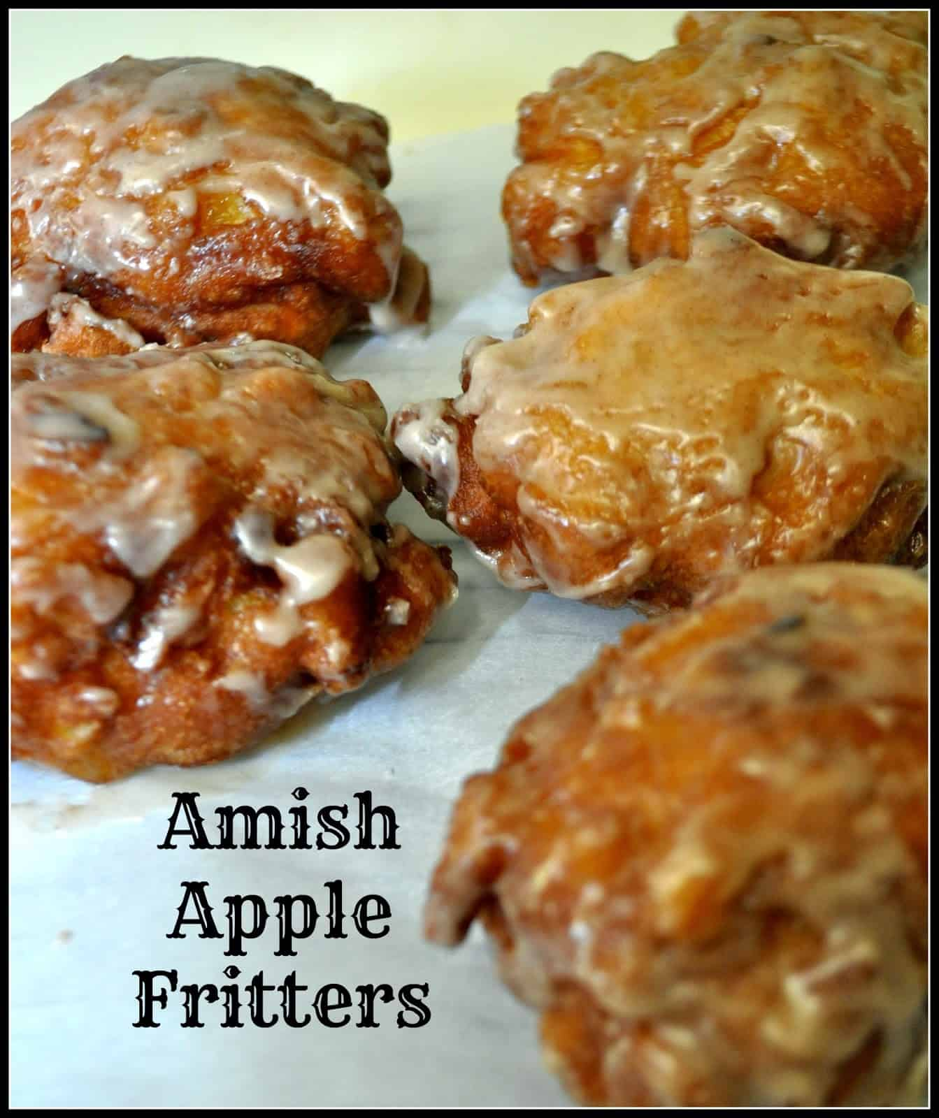 Amish Apple Fritters Easy And Delicious The Grateful Girl Cooks