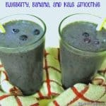 Blueberry, Banana, and Kale Smoothie