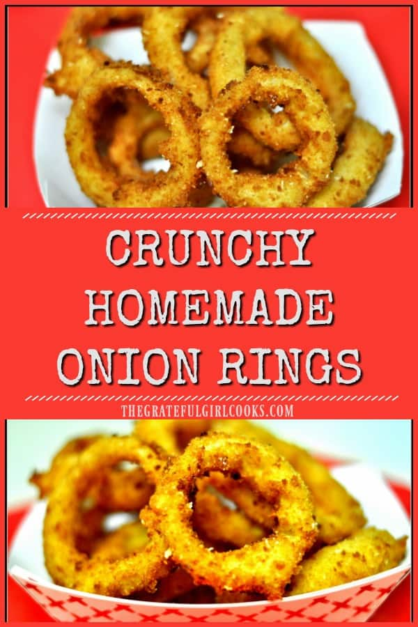 Crunchy Homemade Onion Rings