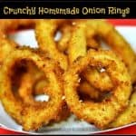 Crunchy Restaurant Style Onion Rings