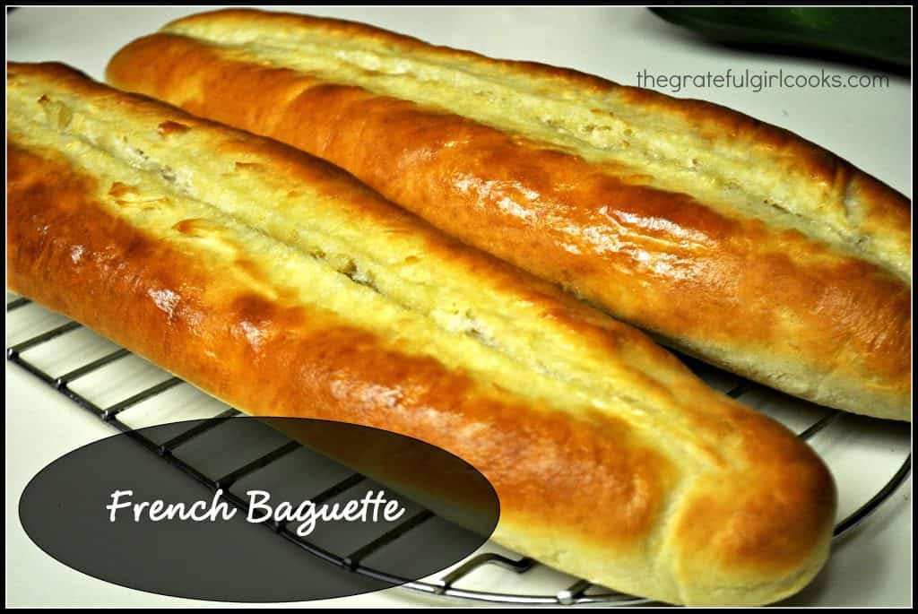 French Baguette / The Grateful Girl Cooks!