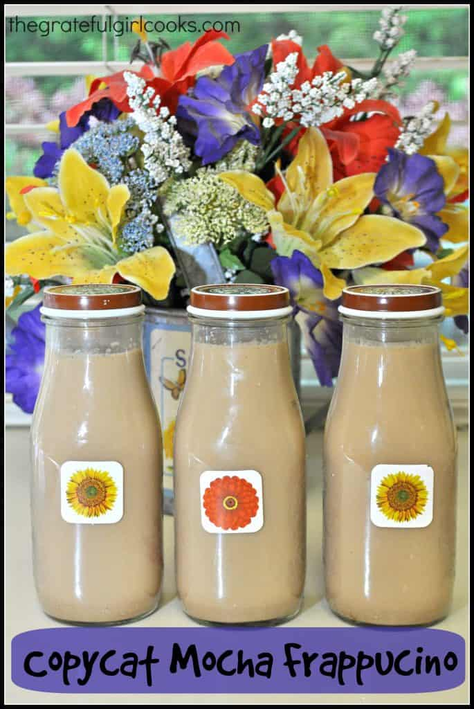 Copycat Mocha Frappucino / The Grateful Girl Cooks!