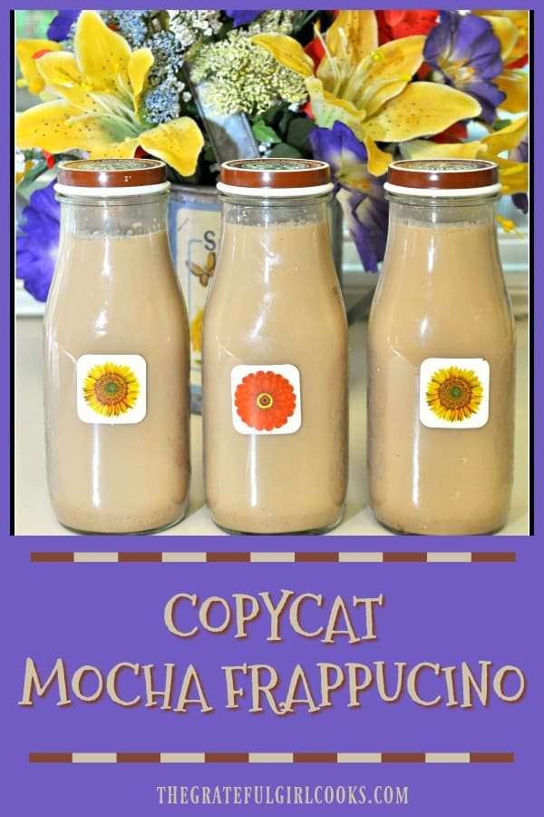 Make your own copycat version of a famous coffeehouse's cold, creamy mocha beverage, with this simple and delicious recipe!
