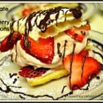 Chocolate And Strawberry Napoleons