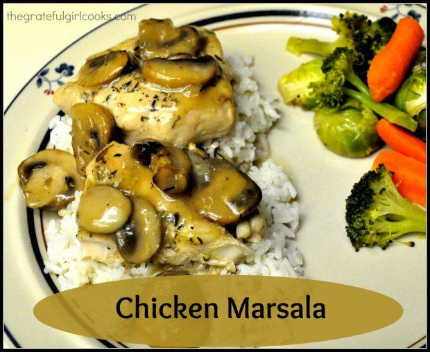Chicken Marsala / The Grateful Girl Cooks!