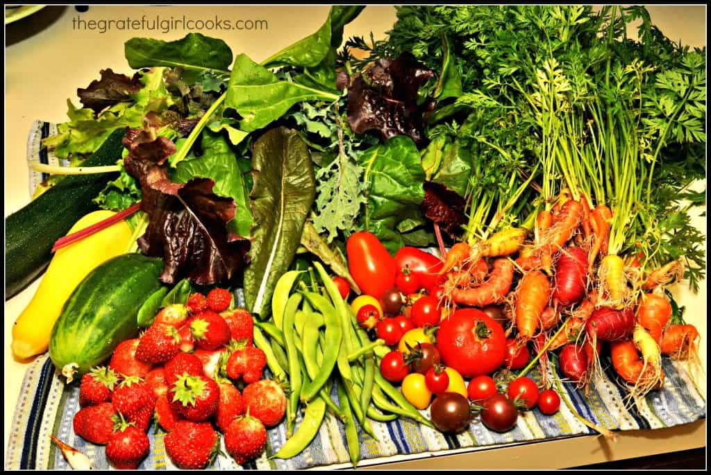 Garden Pickings August 2013