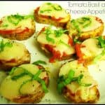 Tomato, Basil and Cheese Appetizers