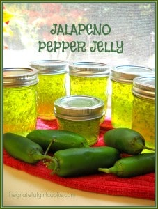 Jalapeno Pepper Jelly | The Grateful Girl Cooks!