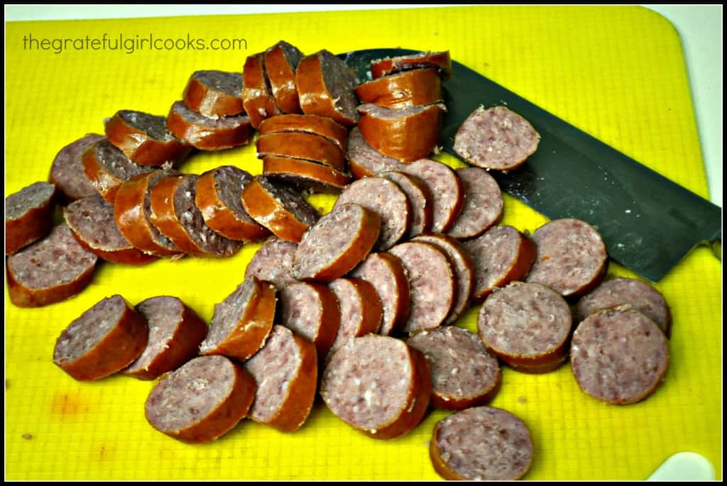 Sweet N' Sticky Polska Kielbasa / The Grateful Girl Cooks!