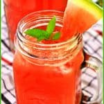 Watermelon, Lime & Mint Agua Fresca