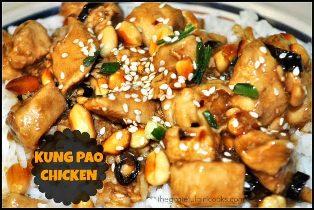 Kung Pao Chicken / The Grateful Girl Cooks!