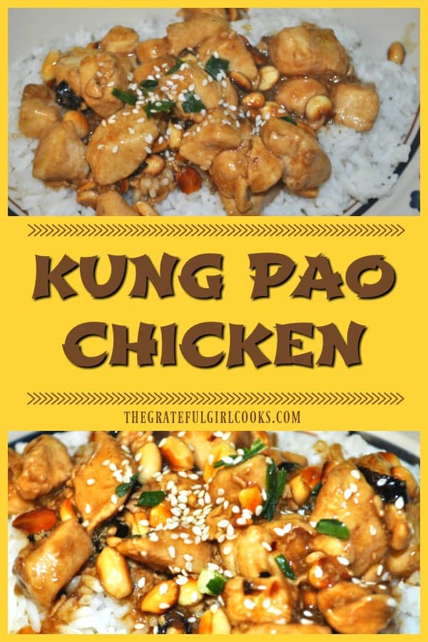 Who needs takeout when you can make amazing Kung Pao Chicken from the comfort of your own home? Serve this classic Chinese dish with rice for a great meal!