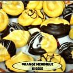 Orange Meringue Kisses