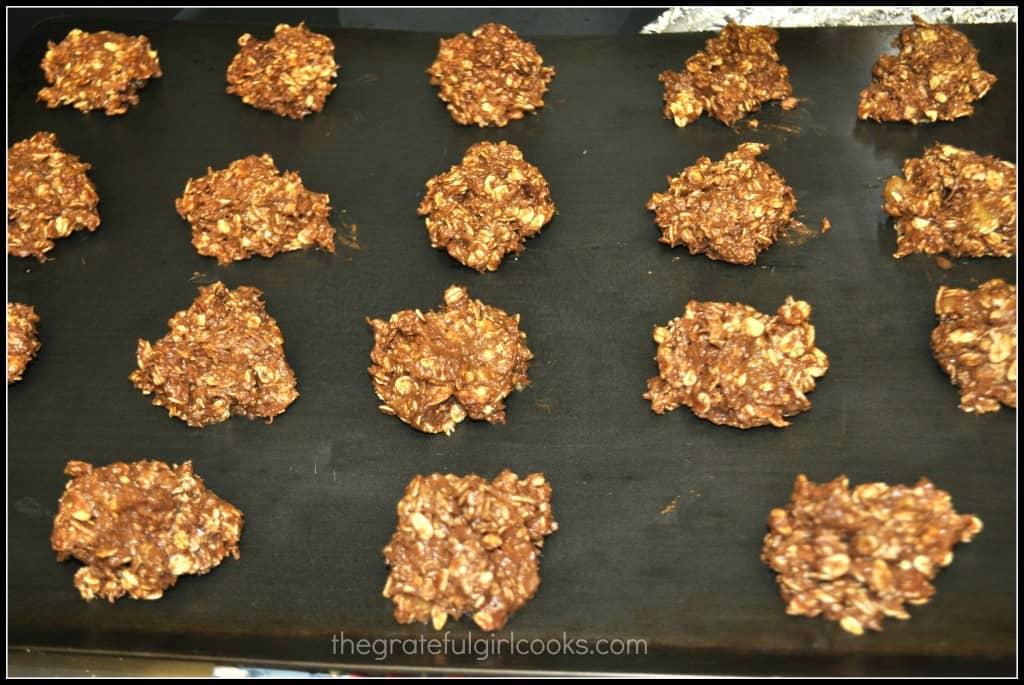 Skinny Chunky Monkey Cookies / The Grateful Girl Cooks!