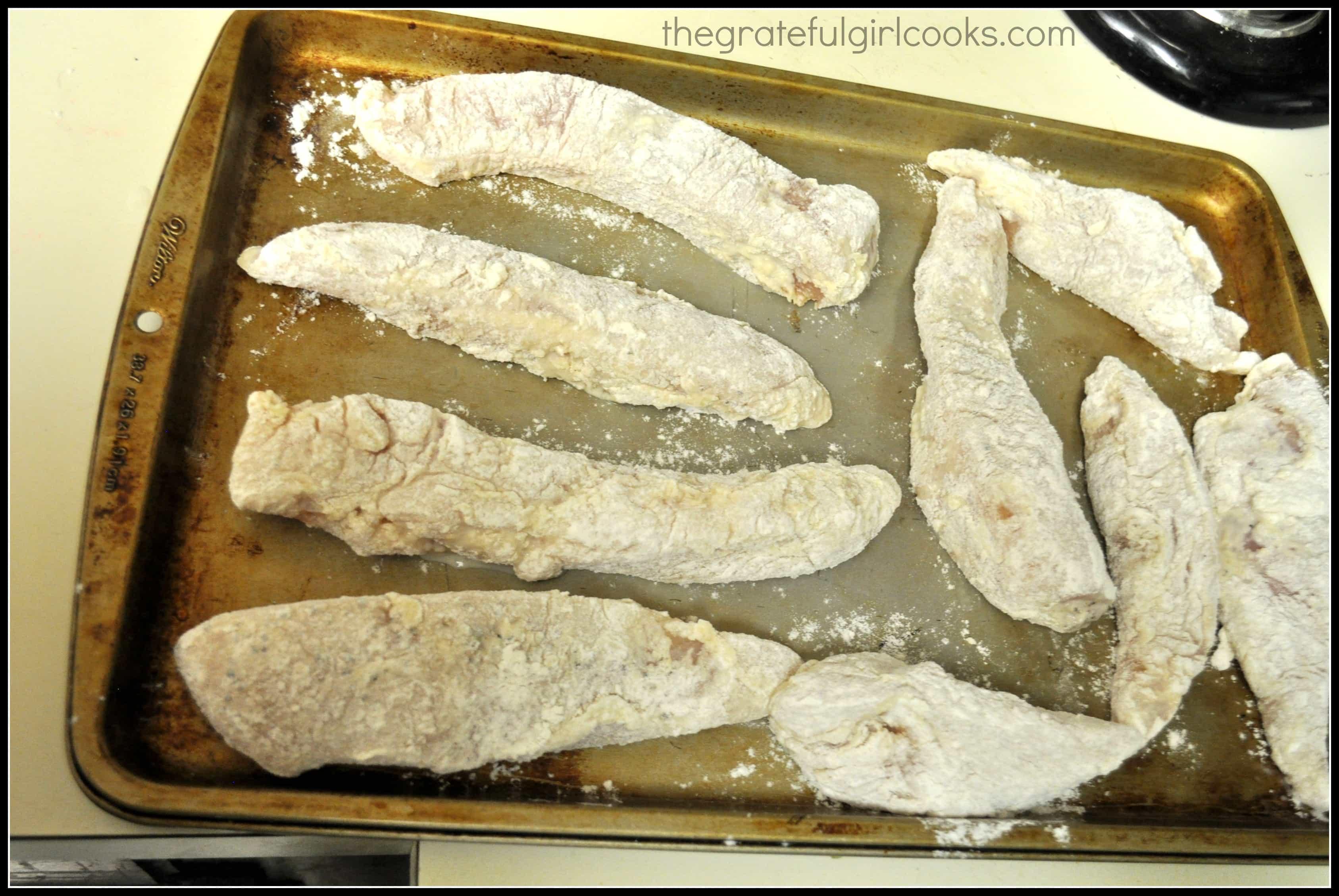 Asian Lemon Chicken Strips / The Grateful Girl Cooks!