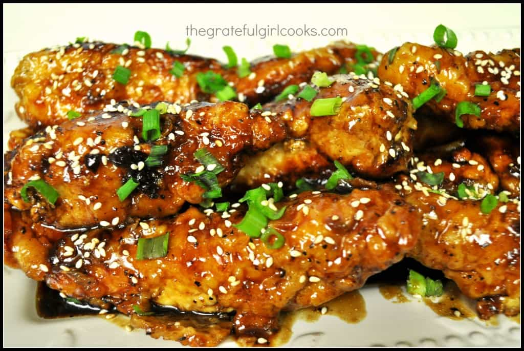 Asian Lemon Chicken Strips / The Grateful Girl Cooks!