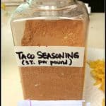 Make Your Own Taco Seasoning Mix