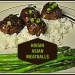 Hoisin Asian Meatballs