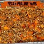 Pecan Praline Yams