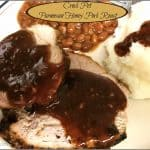 Crock Pot Parmesan Honey Pork Roast