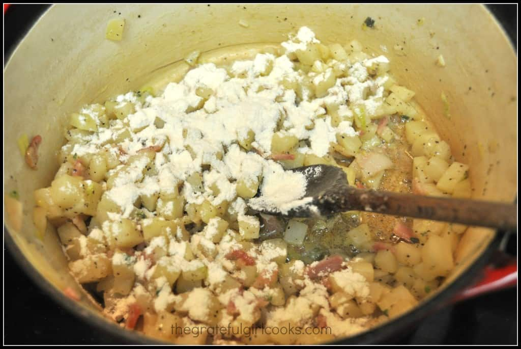 Fully Loaded Potato Soup / The Grateful Girl Cooks!