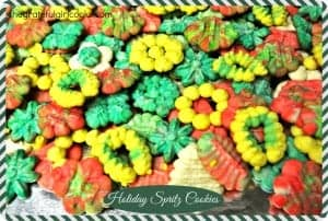 Holiday Spritz Cookies / The Grateful Girl Cooks!